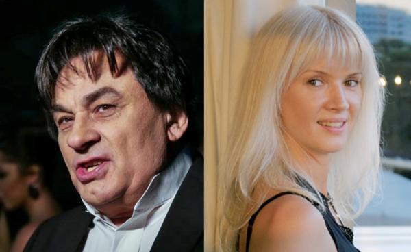 На фото: Александр Серов и его бывшая жена Елена Стебенева