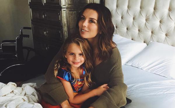Анна Седокова и её дочь Моника
