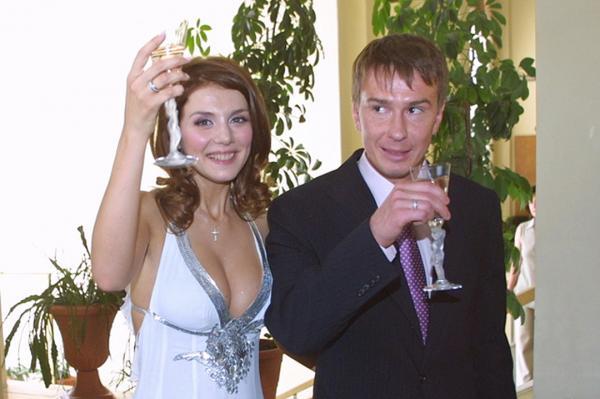 Анна Седакова и её бывший муж Валентин Белькевич