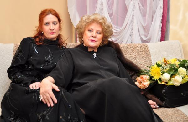 Елена Образцова с дочерью Еленой Макаровой
