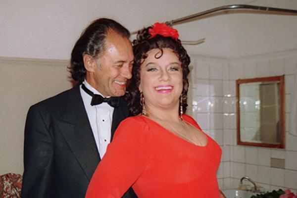 Елена Образцова и ее муж Альгис Жюрайтис