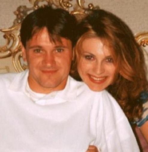 На фото: Лариса Черникова и её первый муж