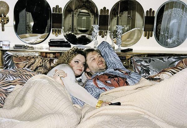 Лариса Долина и её второй муж Виктор Митязов