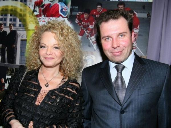 На фото: Лариса Долина и её третий муж Илья Спицын