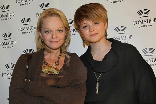 Лариса Долина с дочерью Ангелиной
